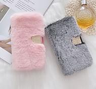 abordables -téléphone Coque Pour Apple Coque Intégrale Wallet iPhone 12 Pro Max 11 SE 2020 X XR XS Max 8 7 6 Portefeuille Porte Carte Antichoc Lignes / Vagues Pluche TPU