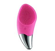 economico -spazzola sonica per la pulizia del viso scrubber elettrico in silicone per il viso massaggiatore pulizia profonda esfoliante anti-invecchiamento e riducente pelle liscia impermeabile e ricaricabile 4