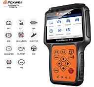 abordables -foxwell nt680 tous les systèmes de diagnostic scanner lire effacer outil d'analyse avec lumière d'huile / service resetepb fonctions version mise à jour de nt624