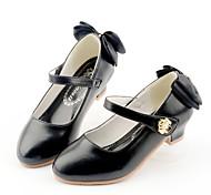 abordables -Fille Chaussures à Talons Mocassin Chaussures de Demoiselle d'Honneur Fille Chaussures de princesse Gomme Polyuréthane Petits enfants (4-7 ans) Grands enfants (7 ans et +) Quotidien Soirée & Evénement