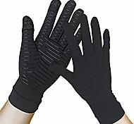 economico -1 paio di guanti di rame guanti di compressione per artrite touch screen con dita complete alleviare l'artrite reumatoide rsi tendinite del tunnel carpale dolore per donne e uomini