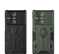 economico -telefono Custodia Per Samsung Galaxy Per retro Note 20 Ultra Note 20 Resistente agli urti Supporto ad anello Armatura Armatura TPU PC