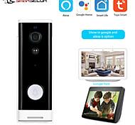 abordables -1080P Tuya Smart WiFi Sonnette Caméra Ring Door Bell App Interphone Détecteur de Mouvement Vision Nocturne Caméra de Sécurité