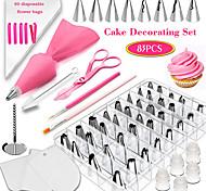 abordables -83 pièces ensemble de cuisson ensemble gâteau décoration bouche outil fondant colorant stylo appareil novice ménage gâteau moule