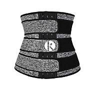 economico -corsetti da allenamento per vita sottoseno da donna body shaper a forma di clessidra cinture sportive vita più sottile grigio xl