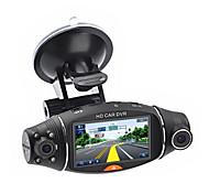 economico -1080p Nuovo design / Avvia la registrazione automatica Automobile DVR 140 Gradi Angolo ampio 2.7 pollice TFT / LTPS / LCD Dash Cam con Visione notturna / G-Sensor / Registratore 1 LED a infrarossi