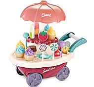 abordables -Jouet de chariot de crème glacée Petites Voiture Nourriture Factice / Faux Aliments Bateau Glace Simulation Plastique Enfant Garçon Fille Jouet Cadeau 1 pcs