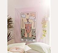"""abordables -tarot mandala tapisserie, hippie psychédélique tapisserie tenture murale chat café tissu boho mur tissu tapisseries pour chambre salon dortoir décor à la maison -& # 40; 59,1 """"x 51,2"""", le"""