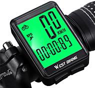 economico -computer da bici wireless, tachimetro e contachilometri per bicicletta impermeabile con cronometro retroilluminato a cristalli liquidi& sveglia automatica