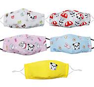 abordables -masque de protection pour enfants masque respiratoire panda masque anti-poussière avec valve peut mettre une puce de filtre