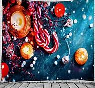 abordables -noël mur tapisserie art décor couverture rideau pique-nique nappe suspendu maison chambre salon dortoir décoration polyester bougie