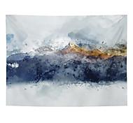 abordables -Peinture à l'encre de Chine style tapisserie murale art décor couverture rideau suspendu maison chambre salon décoration abstrait montagne