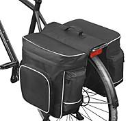 abordables -ROSWHEEL 30 L Sac de Porte-Bagage / Double Sacoche de Vélo Sacs de Porte-Bagage Ajustable Grande Capacité Etanche Sac de Vélo Maille Polyester 600D Sac de Cyclisme Sacoche de Vélo VTT / Cyclisme Vélo
