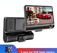 abordables -1080p Nouveau design / Enregistrement automatique de démarrage DVR de voiture 170 Degrés Grand angle 4 pouce TFT / LTPS / LCD Dash Cam avec Vision nocturne / G-Sensor / Enregistrement en Boucle