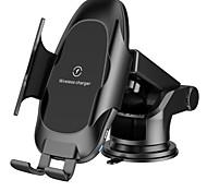 economico -caricabatteria da auto wireless 10w7.5w5w supporto per ricarica rapida a bloccaggio automatico supporto per telefono per presa d'aria per parabrezza compatibile per iphone11 promaxxsmaxxsxrx8 8