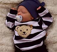 economico -17.5 pollice Bambola rinato Per bambino e infante Bambini Bambola Reborn Saskia Neonato realistico Fatto a mano Simulazione Testa floscia Tessuto Vinile siliconico con vestiti e accessori per regali