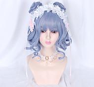 abordables -Non Bleu Sweet Lolita Lolita Ōji (Style Garçon Manqué) Lolita Perruque Lolita  65 pouce Perruques de Cosplay Mode Perruque Perruques d'Halloween