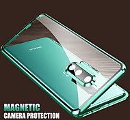 economico -telefono Custodia Per OnePlus Integrale Custodia flip OnePlus 8 Pro OnePlus 8 Resistente agli urti Con chiusura magnetica Transparente Transparente Vetro temperato Metallo