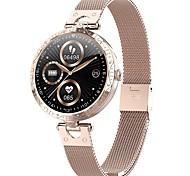 abordables -AK20 Femme Smartwatch Montre Connectée Bluetooth Moniteur de Fréquence Cardiaque Mesure de la pression sanguine Calories brûlées Contrôle des Fichiers Médias Santé Podomètre Rappel d'Appel Moniteur