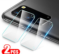 abordables -2pcs lentille de caméra en verre trempé pour Samsung Galaxy S21 Ultra S21 S21 Plus Film de protection en verre pour Galaxy S20 Ultra S20 S20 Plus