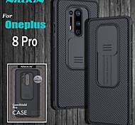 abordables -téléphone Coque Pour OnePlus Coque Arriere OnePlus 8 Pro OnePlus 8 Antichoc Lignes / Vagues Couleur Pleine TPU PC