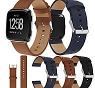 economico -Cinturino intelligente per Fitbit 1 pcs Cinturino sportivo Vera pelle Sostituzione Custodia con cinturino a strappo per Fitbit Versa Fitbi Versa Lite fitbit versa 2