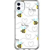 economico -Design speciale Ape Astuccio Per Apple iPhone 12 iPhone 12 Pro Max iPhone XR Design unico Custodia protettiva Resistente agli urti Transparente Fantasia / disegno Per retro TPU