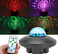 abordables -Projecteur de rotation de ciel étoilé coloré lumière LED Bluetooth son télécommande lecteur de musique lampe de nuit projection veilleuse