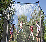 abordables -Arroseur de trampoline Spray pour trampoline Jouets de jeu de gicleurs Jouets aquatiques Accessoires de trampoline Sports et plein air Drôle Eté Printemps été Extérieur Parc aquatique Garçons et