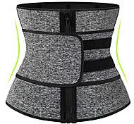 abordables -corset d'entraînement de taille de sueur de néoprène pour la perte de poids des femmes avec la fermeture à glissière de ykk, serre-taille de corps de ceinture de tondeuse