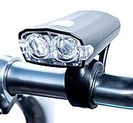 abordables -phare de vélo à led rechargeable et résistant à l'eau usb | 3 modes - haut, bas& stroboscopique | avec support de guidon et câble de charge | 100 lumens