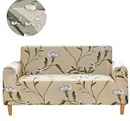 abordables -housses tout-puissantes à imprimé floral beige housse de canapé imperméable extensible housse de canapé en tissu super doux
