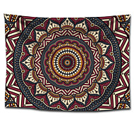 economico -wall tapestry art decor blanket curtain hanging home bedroom living room dorm decoration polyster bohemia indian mandala floral flower lotus