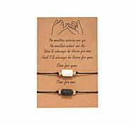 economico -paio di braccialetti bracciali diffusore di oli essenziali bracciale migliore amico bracciale mignolo promessa coppie bracciali abbinati a bracciali in pietra curativa