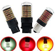 abordables -4pcs ou 2pcs 1156 BA15s T20 LED P21W W21W PY21W LED Ampoules Canbus Pas de feux hyper flash clignotants de voiture automatiques feux de stationnement 3014144 SMD