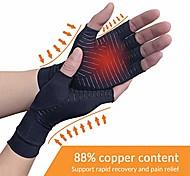 abordables -Gants d'arthrite de compression d'arthrite en cuivre, 88% de teneur en cuivre gants confortables pour le soulagement de la douleur du rsi, polyarthrite rhumatoïde canal carpien, idéal pour les