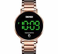 economico -orologio da uomo, orologio sportivo digitale impermeabile con touch screen, orologio da polso in acciaio stailesd