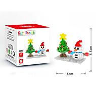 abordables -Blocs de Construction Blocs LOZ Noël Thème floral Vacances compatible Legoing Non Toxique A Faire Soi-Même Noël Jouet Cadeau / Enfant