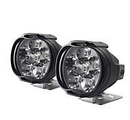 abordables -cnsunnylight moto 8w phare led e-bike scooters spots phares auto phare voiture brouillard drl feux de jour externes 2 pièces