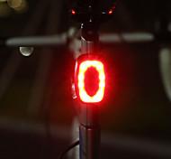 abordables -équipement de vélo de charge usb feux arrière feux de vélo de montagne lumières stroboscopiques de nuit feux d'avertissement clignotants (couleur: rouge)