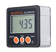 abordables -inclinomètre numérique multifonctionnel ip65 coque en alliage d'aluminium étanche rapporteur électronique gamme 4 * 90 degrés mini jauge d'angle numérique avec rétro-éclairage