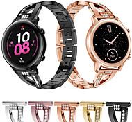 abordables -Bracelet de montre connectée pour Huawei 1 pcs Conception de bijoux Acier Inoxydable Remplacement Sangle de Poignet pour Montre Huawei GT Montre Huawei 2 Watch 2 Pro Honneur à la magie Huawei Watch