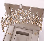 abordables -Femme Pour Mariage Soirée Mascarade Séries bijoux Série romantique Paver Diamant synthétique Alliage Argent Dorée Bleu 1pc