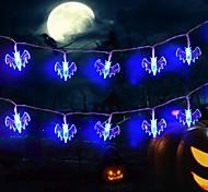 economico -3m 20leds luci della stringa di halloween stile pipistrello aa batteria luci dhost festival horror luci della decorazione di halloween