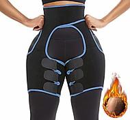 economico -3-in-1 allenatore a vita alta trimmer per coscia fitness weight butt lifter cintura di supporto dimagrante potenziatore dell'anca shapewear trimmer coscia per donne (blu, x-large)