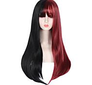 abordables -Non Noir / Rouge Sweet Lolita Lolita Ōji (Style Garçon Manqué) Lolita Perruque Lolita  75 pouce Perruques de Cosplay Mode Perruque Perruques d'Halloween