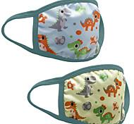 economico -3 maschere in cotone maschere antipolvere per bambini maschere lavabili per cartoni animati possono essere inserite maschere in cotone traspirante pm2.5