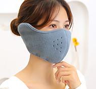 abordables -1 pièces demi-visage coupe-vent hiver moitié respirant pour hommes femmes fournitures d'activités de plein air (noir et gris)