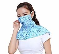 abordables -masque de cyclisme pour femmes crème solaire en soie glacée respirante masque complet à long cou protection UV d'été sports de plein air, écharpe de protection anti-soleil pour le cou masque de
