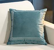 abordables -housse de coussin velours cygne europe du nord doux décoratif carré housse de coussin taie de coussin taie d'oreiller pour canapé chambre 45 x 45 cm (18 x 18 pouces) qualité supérieure lavable en